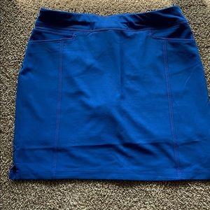 Adidas royal blue golf skort. Size small.